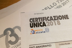 Pensioni: come scaricare online la Certificazione Unica 2019